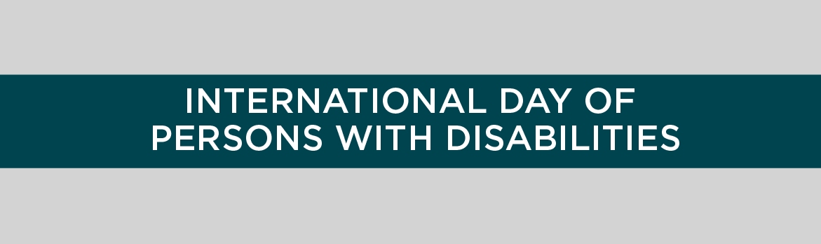 International Day of Persons with Disabilities 2015
