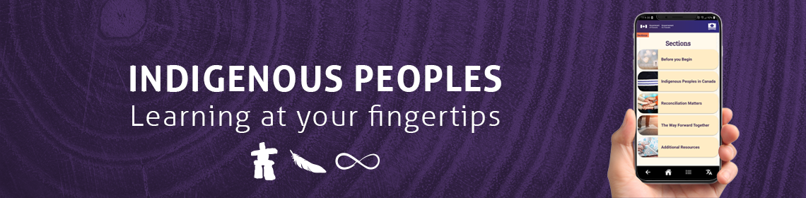 Indigenous Peoples: Learning at your fingertips